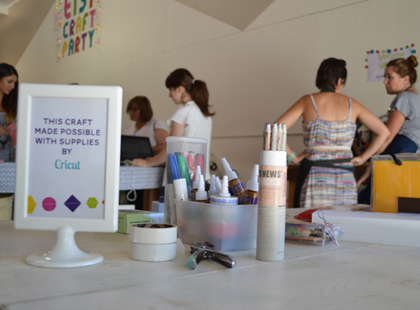 Creative Outlet Studios Etsy Craft Party