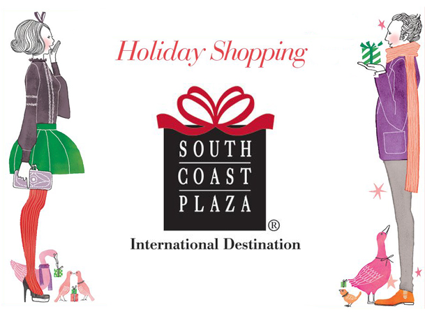 South Coast Plaza Holiday Shopping