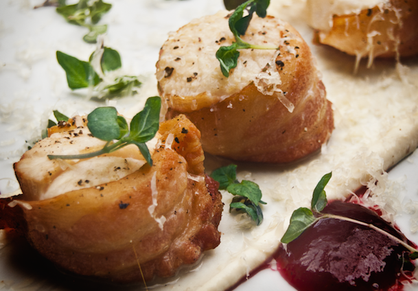 bacon scallops