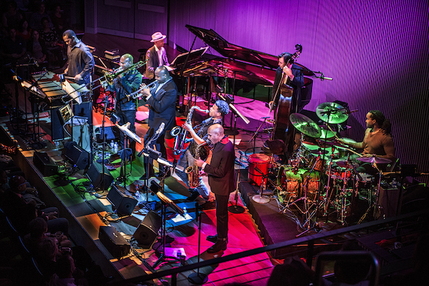 SF Jazz Collective photograhed in San Francisco, CA October 23, 2015©Jay Blakesberg