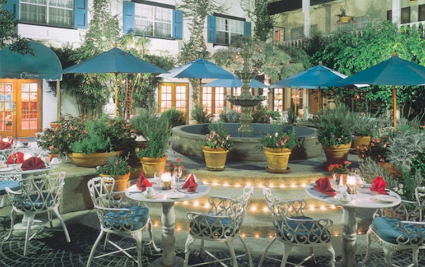 Ayres Le Chateau Bistro Outdoor Patio
