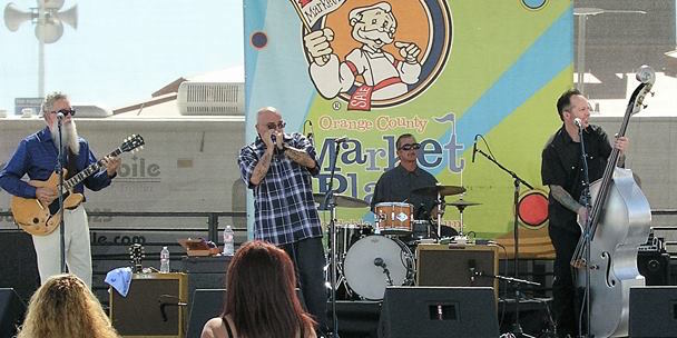 Live music at OC Marketplace