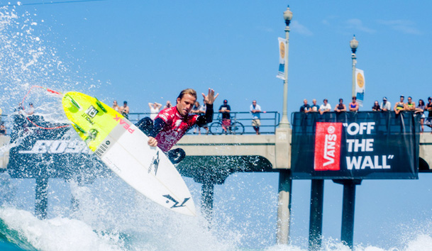 US Open of Surfing in Huntington Beach