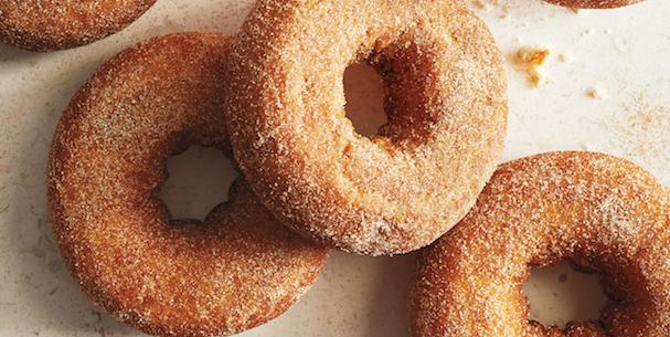 Sur La Table Pumpkin Spice Doughnuts