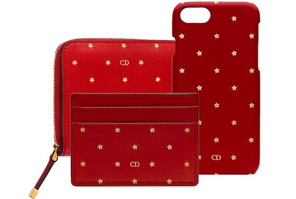 Dior wallet phone case and credit card holder at South Coast Plaza