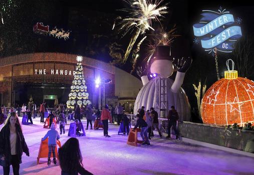 Winter Fest at the OC Fair & Event Center in Costa Mesa 2018