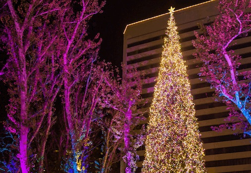 South Coast Plaza 38th Annual Tree Lighting Ceremony