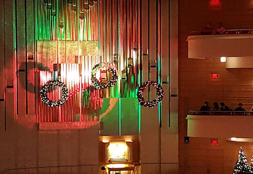 Holiday Organ Spectacular at Segerstrom Center for the Arts in Costa Mesa