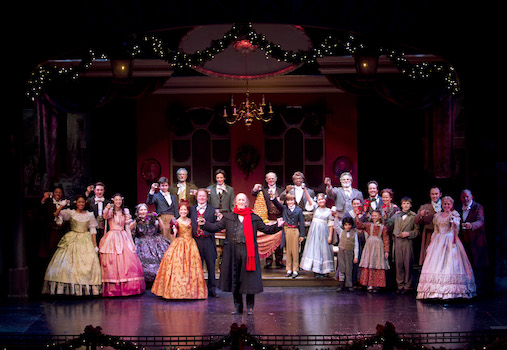 A Christmas Carol at the South Coast Repertory Costa Mesa