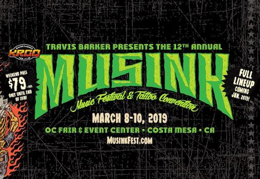 Musink at the OC Fair & Event Center in Costa Mesa