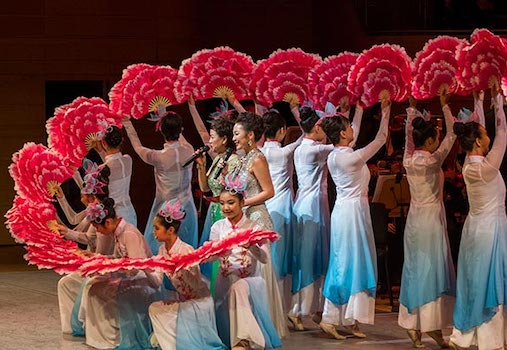 Lunar New Year at Segerstrom Center for the Arts in Costa Mesa