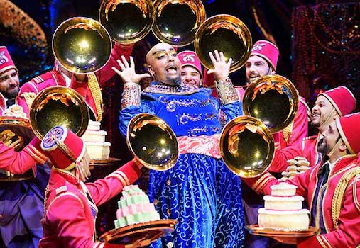 Disney's Aladdin at Segerstrom Center for the Arts in Costa Mesa