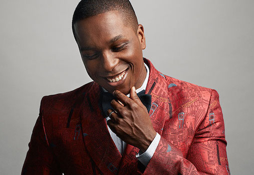 Leslie Odom, Jr. at Segerstrom Center for the Arts in Costa Mesa