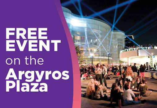 Tuesday Night Dance at Segerstrom Center for the Arts in Costa Mesa March 19