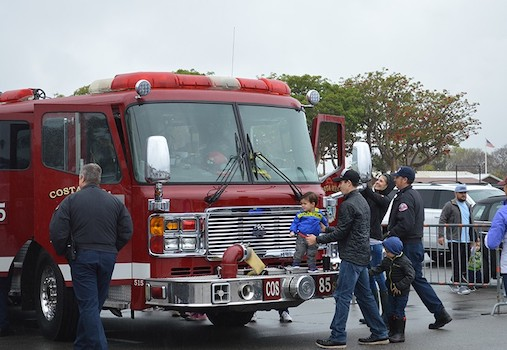 Touch-A-Truck at the OC Market Place in Costa Mesa