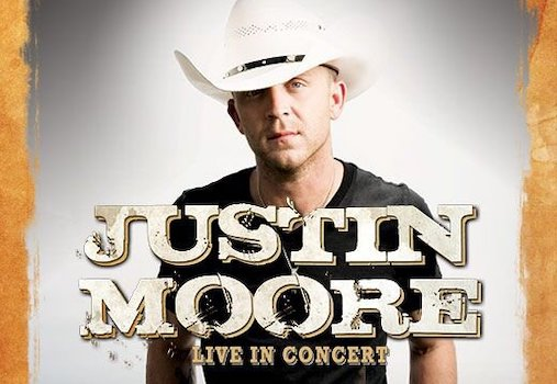 Justin Moore at the Pacific Amphitheatre in Costa Mesa
