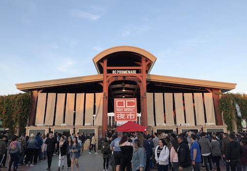 OC Night Market at the OC Fair & Event Center Costa Mesa June 2019