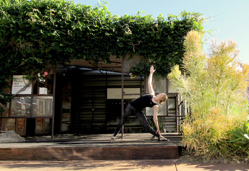 Yoga in the Tree House at The CAMP Costa Mesa June