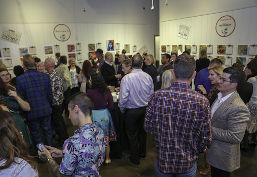 Chuck Jones Center Red Dot Auction at SOCO and The OC Mix