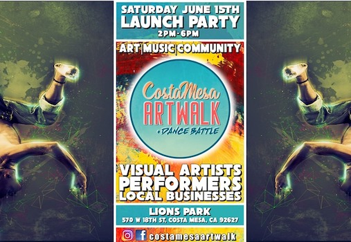Costa Mesa ArtWalk at Lions Park