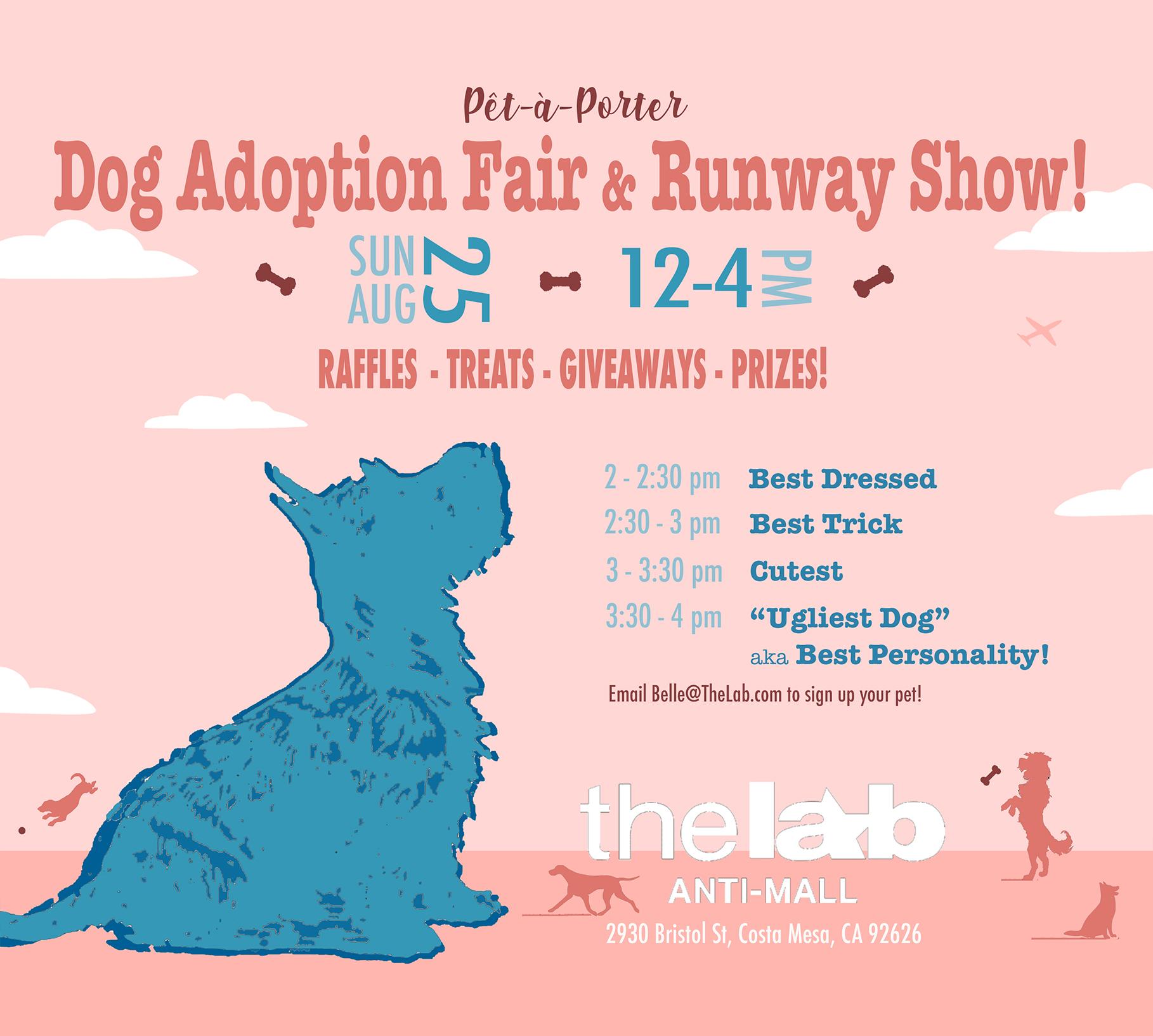 Pet-A-Porter Dog Adoption Fair & Runway Show