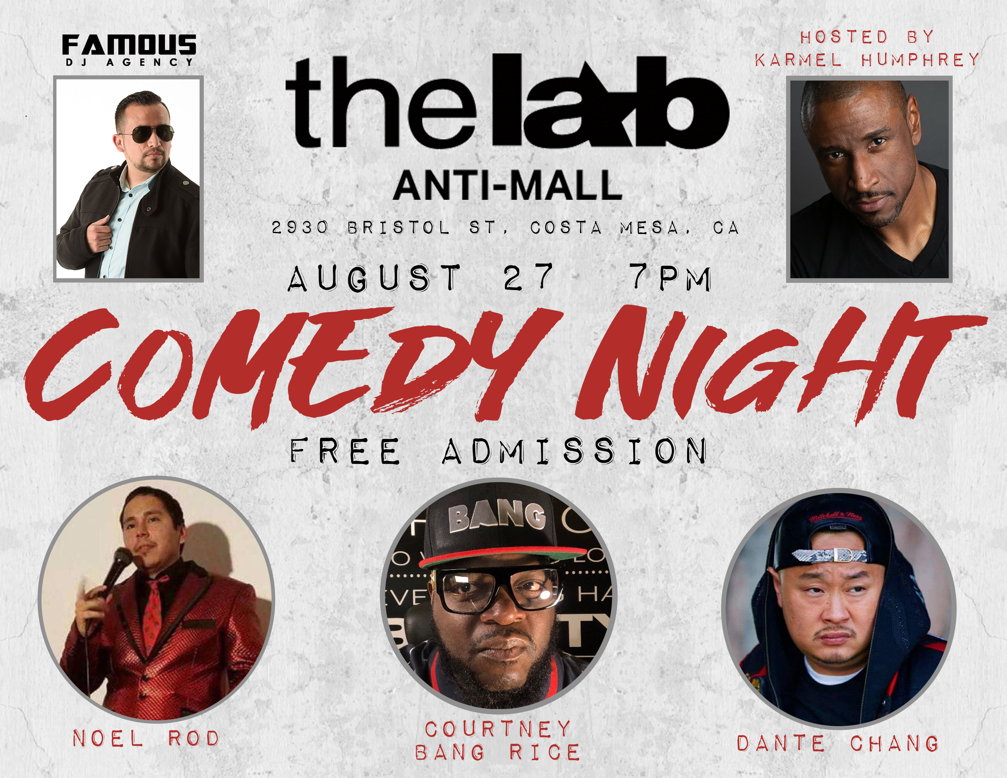 Comedy in the living room at The LAB