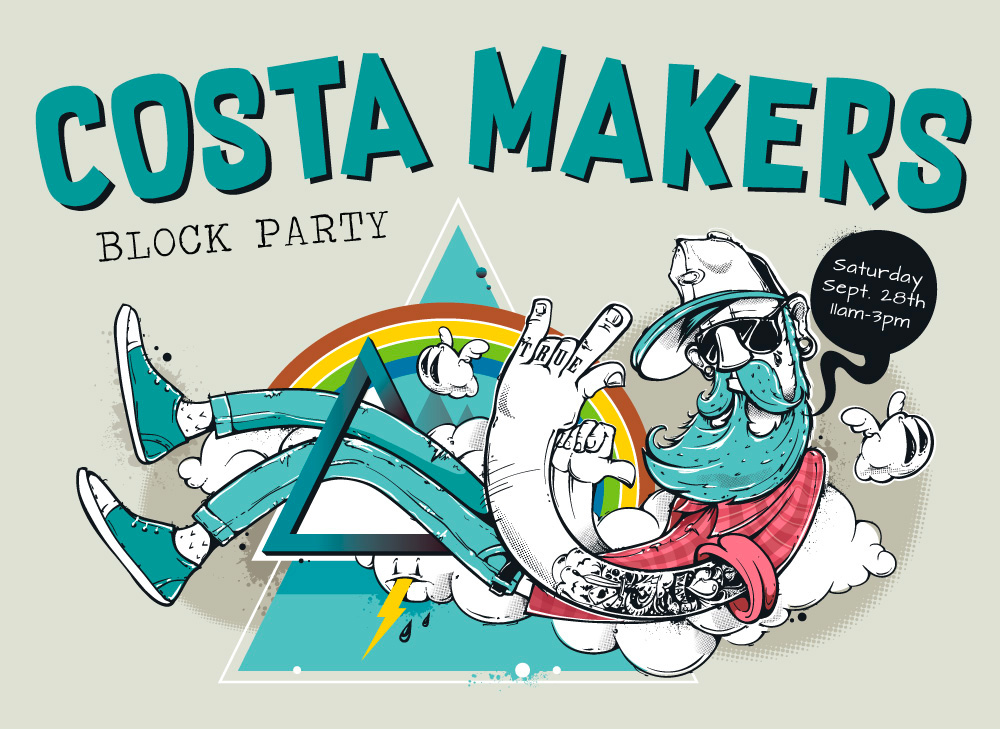Costa Makers Block Party