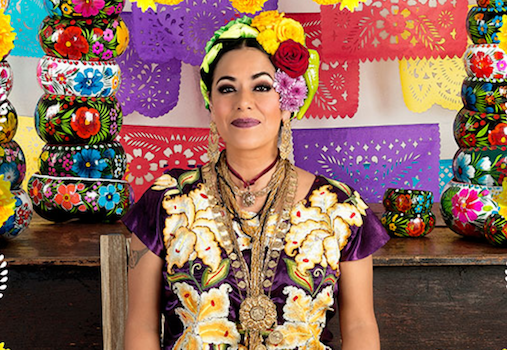 Lila Downs at Segerstrom Center for the Arts in Costa Mesa