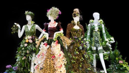 Fleurs de Villes Couture Exhibition