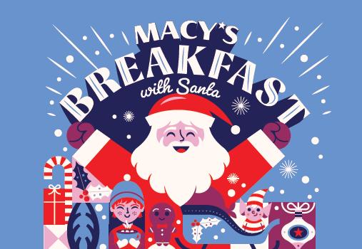 Macy's Breakfast with Santa