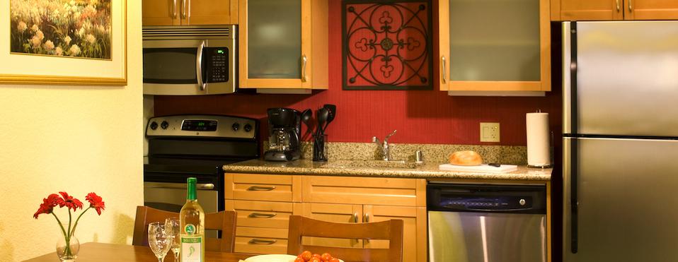 Residence Inn by Marriott Costa Mesa Kitchen