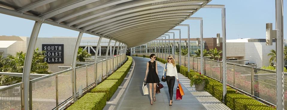 South Coast Plaza - an international shopping destination