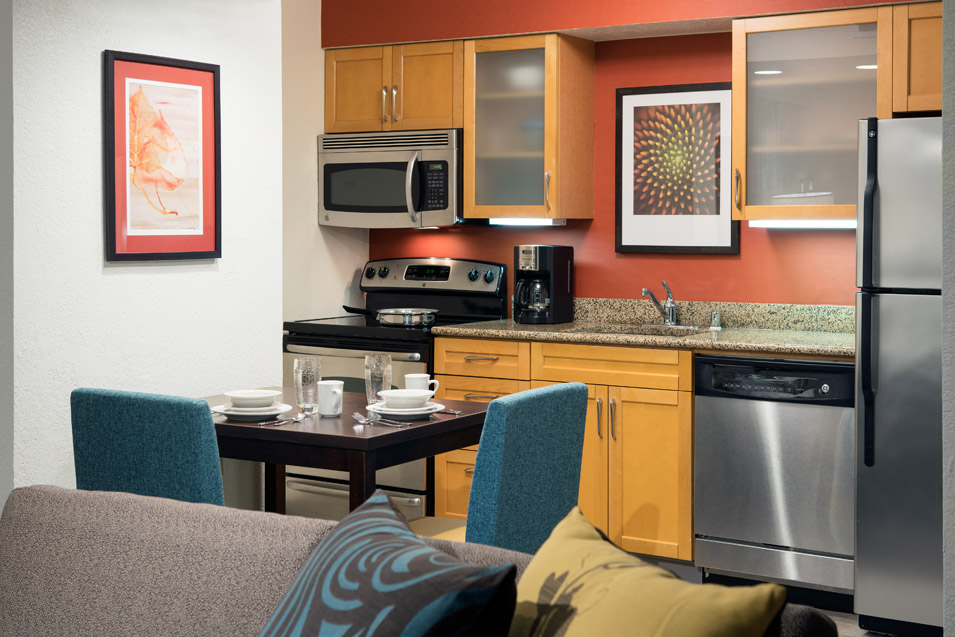 Residence Inn by Marriott Costa Mesa Kitchen